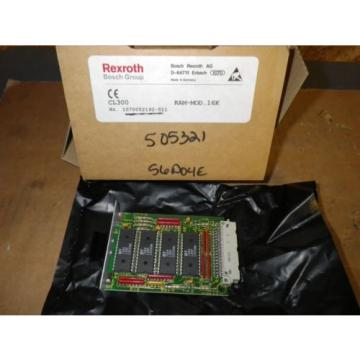 Rexroth Canada Korea Bosch CL300 RAM-MOD.16K 1070052192-511