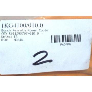 NEW Singapore Dutch BOSCH REXROTH IKG4100 / 010.0 POWER CABLE R911293707/010.0 IKG41000100