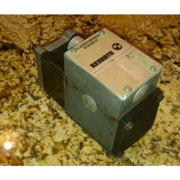 REXROTH Canada Japan 4WE10D21/AW110NDAV SOLENOID VALVE HYDRAULIC HYDRO NORMA $199