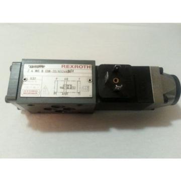 REXROTH Canada USA HYDRAULIC VALVE Z4WE-6-E68-20/AG24N9K4 24VDC Z4WE-6-E68-20 AG24N9K4