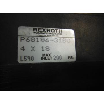 "WABCO Dutch Germany REXROTH CYLINDER P68186-3180 ( 4"" BORE) ~ New in box"
