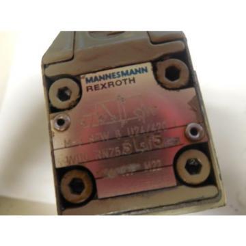 REXROTH Germany France SOLOIND VALVE M-3 SEW 6 U24/4720 L W110 RNZ55L/5  M3SEW6U244720 L