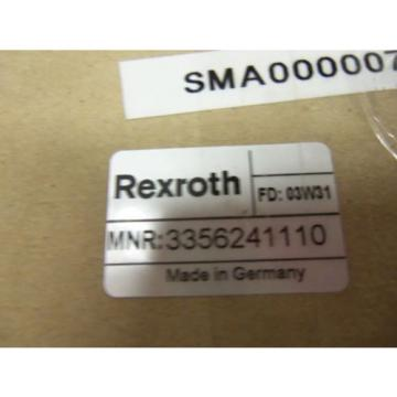 REXROTH Korea Korea 3356241110 *NEW IN BOX*