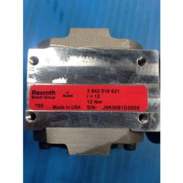 BOSCH Canada china REXROTH 3 842 516 621 GEAR REDUCER 3-842-516-621 NEW NO BOX U4