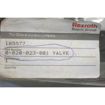 NEW Greece Russia REXROTH 0-820-023-001 SOLENOID VALVE 0820023001