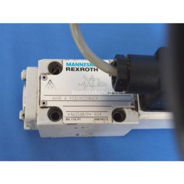 Mannesmann Germany France Rexroth 4WE 6 Y53/AG24NZ Directional Valve