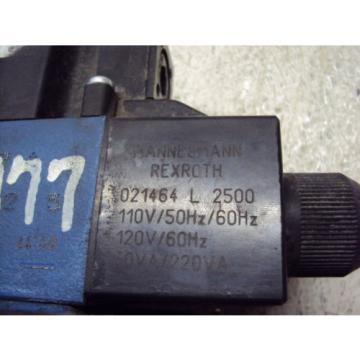 MANNESMANN Singapore USA REXROTH VALVE H-4WEH22E74/6EW110N 9E TDA  USED