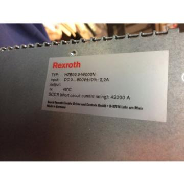 SALE!! Italy Canada Rexroth Indramat HVE04.2-W075N POWER SUPPLY WITH BLEEDER HZB02.2-W002N