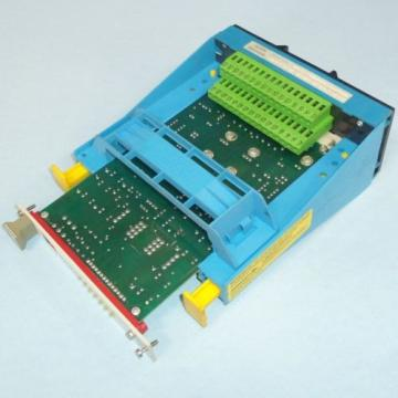MANNESMANN Canada Dutch REXROTH CONTROL CARD SU1 VTS0311S11 W/ VT-3002-20/32 ID#: 020153