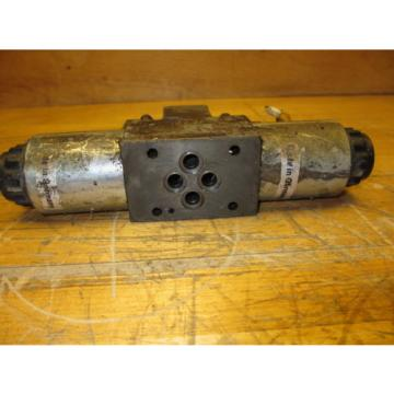 Rexroth France Canada 4WE6T60/DG24N9DK24L Hydraulic Directional Valve 24VDC Hydronorma