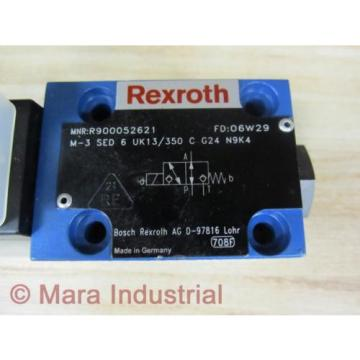 Rexroth China Canada Bosch R900052621 Valve M3SED6UK13350CG24N9K4 - New No Box