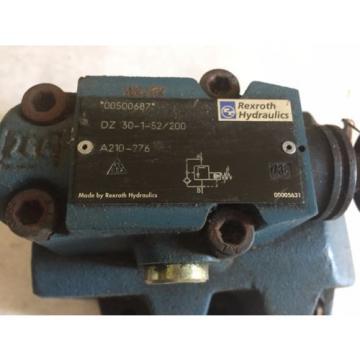 NEW Dutch Russia REXROTH DZ 30-1-52/200 HYDRAULIC VALVE 00500687 REXROTH A210-276