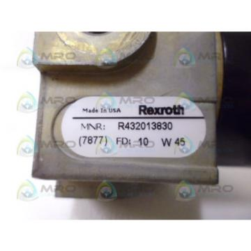 REXROTH Russia Japan R432013830 *NEW NO BOX*