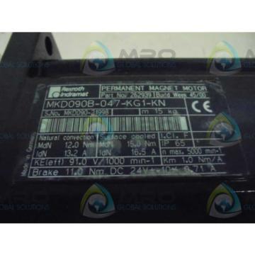 REXROTH Italy Korea INDRAMAT MKD090B-047-KG1-KN *NEW IN BOX*