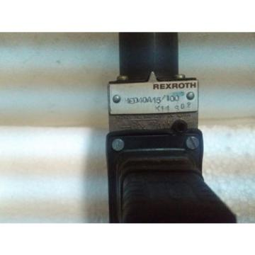HED40A/15/100K14,REXROTH Greece china HYDRO-ELECTRIC PRESSURE SWITCH