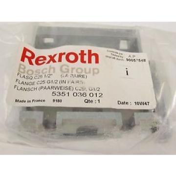 NEW Australia Japan REXROTH BOSCH GROUP FLANGE C25 G1/2 5351 036 012 5351036012