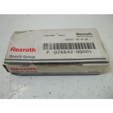REXROTH Canada china P-02662-00005 *NEW IN BOX*