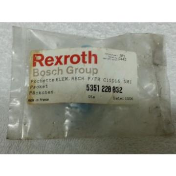 Rexroth Canada Canada Bosch 5351 220 032 Element Only C15-D16 5Mic - NOS Surplus