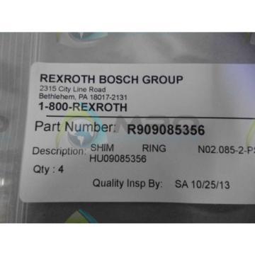 REXROTH India USA R909085356 RING *NEW IN ORIGINAL PACKAGE*