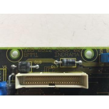 Rexroth Dutch Germany Indramat 109-0912-3B06-02 Axis Controller Circuit Board 10909123B0602