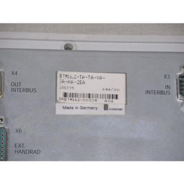 Bosch France Canada Rexroth Indramat BTM16.2