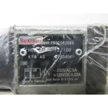 Rexroth Germany Mexico R900083069 HED 8 OH 12/100 -unused-