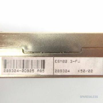Rexroth Canada Germany Indramat Programmiermodul ESM02.3-FW 289324 GEB