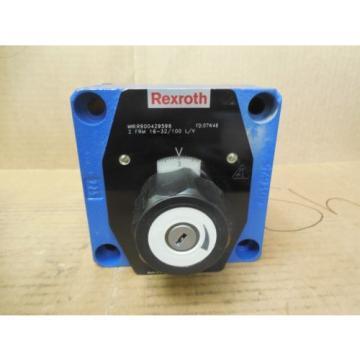 Rexroth Japan France Flow Control Valve R900429596 2 FRM 16-32/100 L/V New