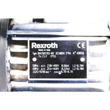 Bosch/Rexroth Australia Italy 3842503783-481 Getriebemotor
