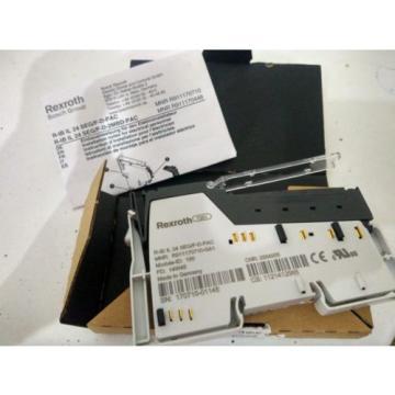 2x Italy Korea REXROTH R-IB IL 24 SEG/F-D-PAC Modul  NEU