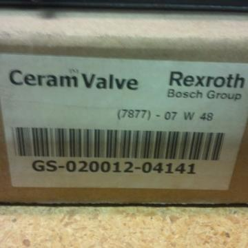 Rexroth Canada Canada ceram valves(set of 2)R434000061/GS02001204141 New