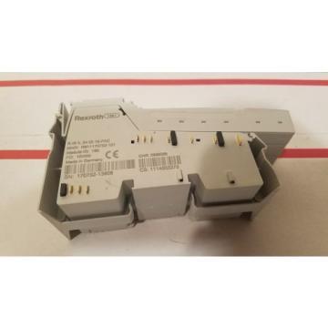 Rexroth Mexico Canada Indramat R-IB IL 24 DI 16 PAC / R911170752-101 / 10W05