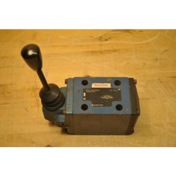 Bosch India Singapore Rexroth R900586919 4WMM10J31 Hydraulic Directional Control Valve