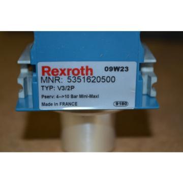 Rexroth Egypt china 5351620500 Typ: V3/2P Absperrventil C15i 3/2 Neu