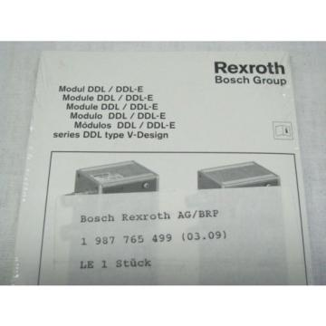 Bosch Korea Egypt Rexroth DDL Field Bus RMV-DDL-E Module 1827030190 BRAND NEW IN BOX NIB