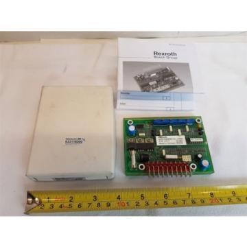 Rexroth Germany Korea R909890144 Amplifier Card Module PVR-12F/11 371857 New