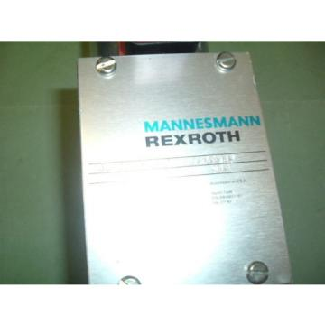 MANNESMANN Singapore Canada REXROTH 4WE10G73 31 CG12N945S09 VALVE  NEW PACKAGED