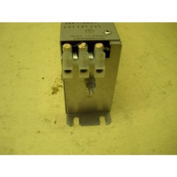 Rexroth India Egypt Indramat Power Line Filter NFD03.1-480-016