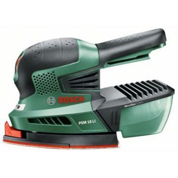 4 ONLY Bosch PSM18Li (BARE TOOL) Cordless 18v Sander 06033A1301 3165140571975 #