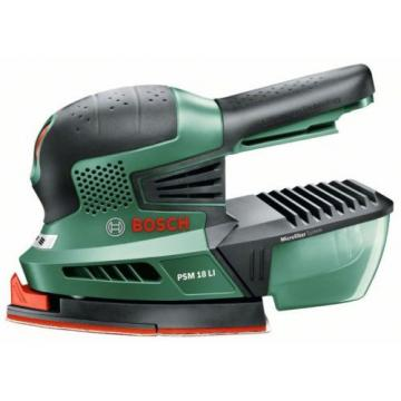 4-ONLY new Bosch PSM 18 Li Cordless 2.0AH  18v Sander 06033A1301 3165140571975 *