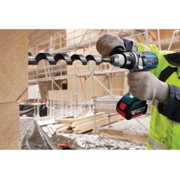 Bosch Lithium-Ion 1/2 Hammer Drill Concrete Driver Kit Cordless Tool 18-Volt NEW
