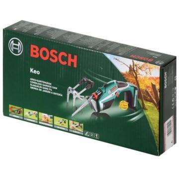Bosch Giardino sega Keo + Lama per sega 10,8 V, max. ø 80 mm Capacità di taglio