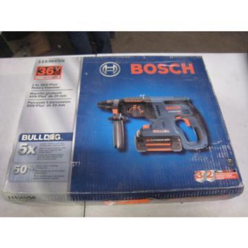 """Bosch 11536VSR 36V Li-Ion 1""""  Cordless Rotary Hammer Drill New Free Shipping"""