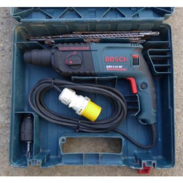 Bosch GBH 2-22 RE Professional, 2 Mode SDS Rotary Hammer Drill, 110 Volt