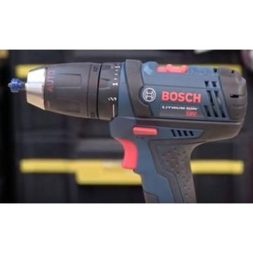 Bosch Cordless Drill Kit 18 Volt Lithium Ion Tough Driver Compact Ddb181 02 Soft