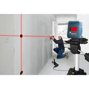 Bosch GLL 2 Self-leveling Cross-Line Laser with clamping mount