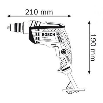 Bosch Professional Rotary Drill Machine, GBM 6, 350W