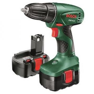 Bosch 14.4V Cordless Drill Driver Kit Drill + Batteries + Charger