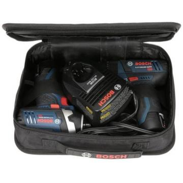 Bosch 12-Volt Max Lithium Ion (Li-ion) Cordless Combo Kit with Soft Case