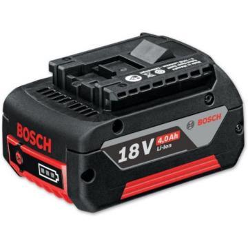 2x Bosch 18V 4.0AH COOLPACK Professional Li-Ion battery - New